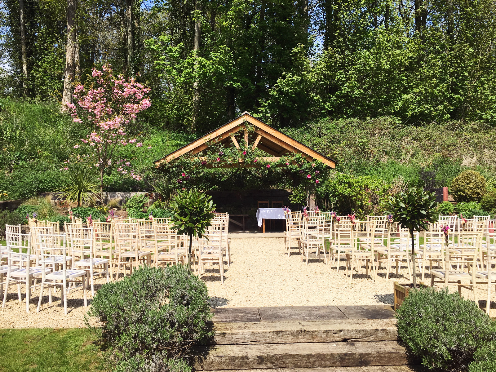 Wedding Ceremony Outdoor Venue